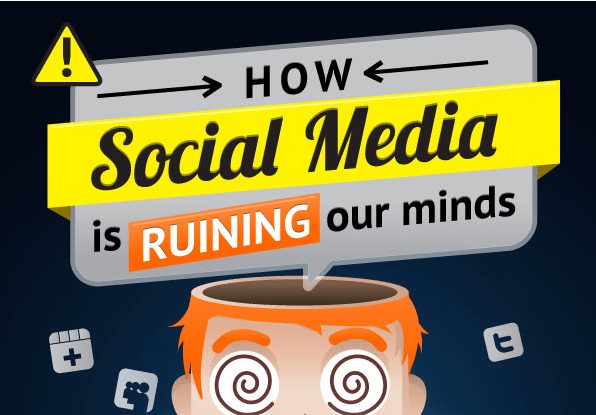 Infographic: Social Media is Ruining Our Minds
