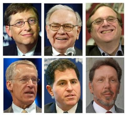 Billionaire Winners and Losers