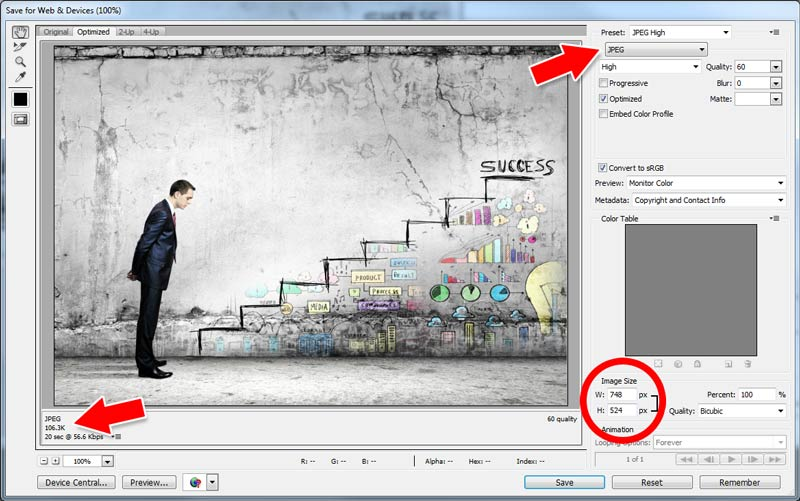 improving-your-wordpress-website-photoshop-compression